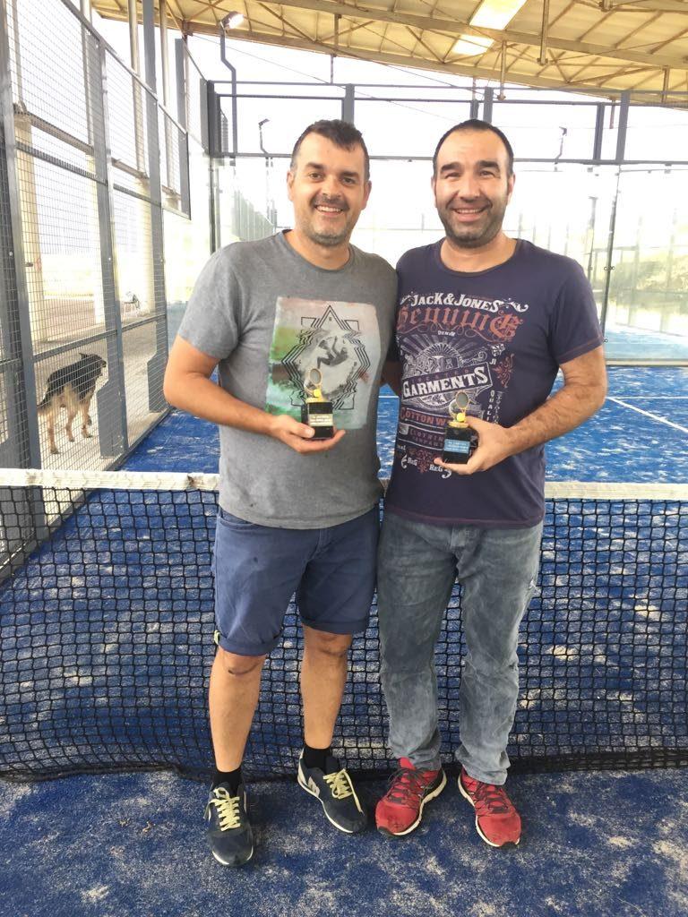 Entrega de trofeus 2ns Classificats III Lliga de Pàdel Vilafant
